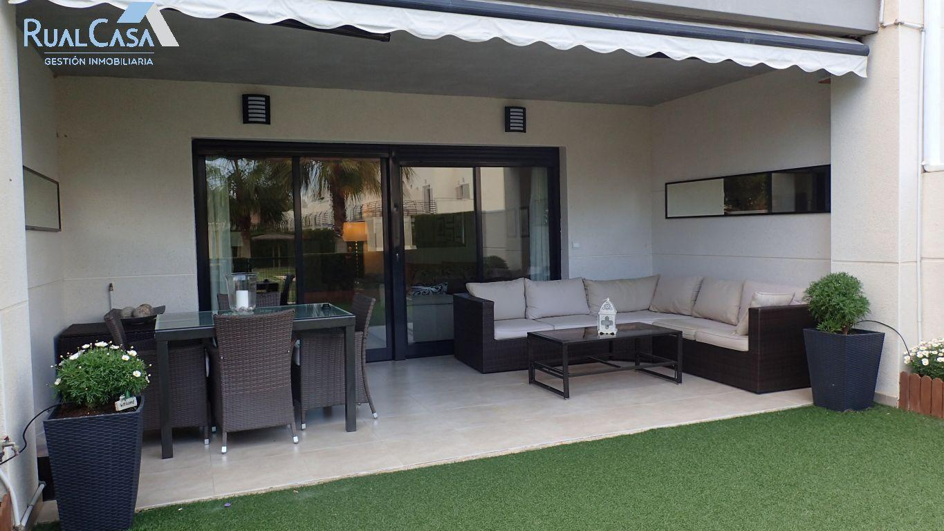 Bungalow en campo golf
