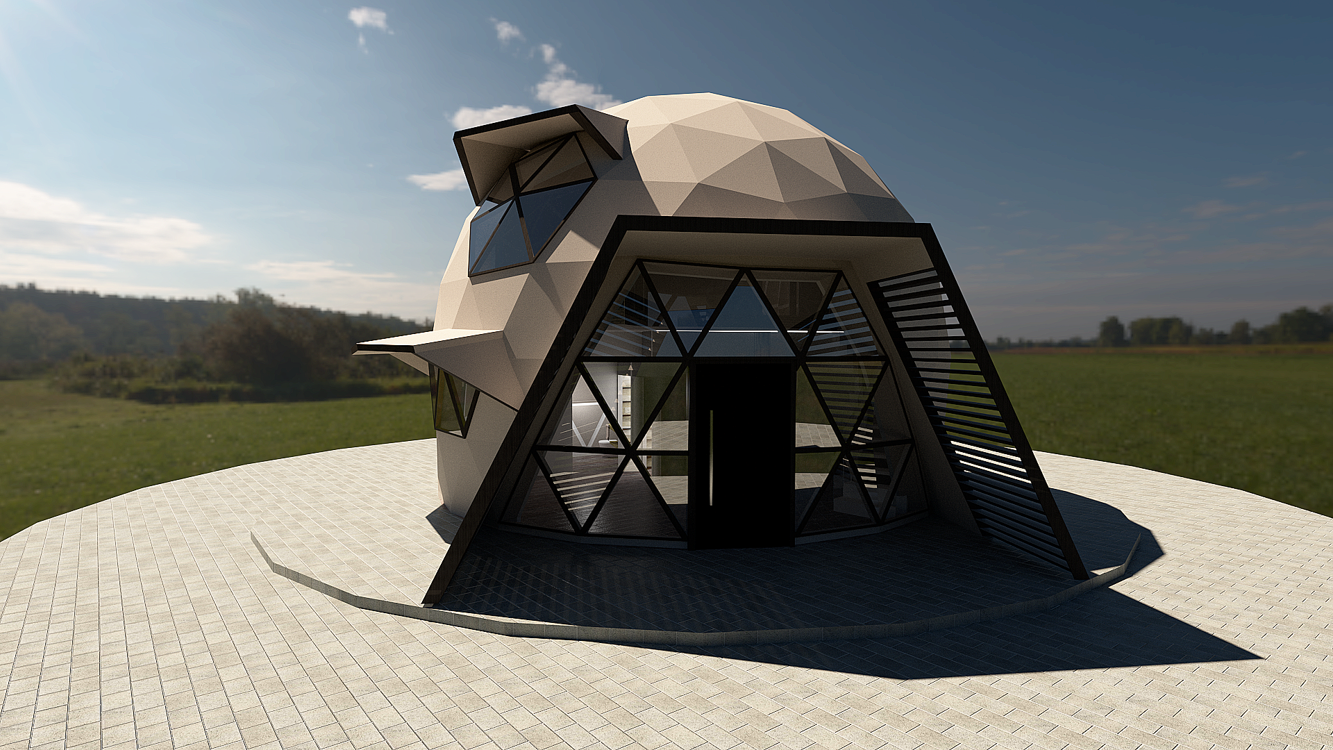 Austral - Dome New Build model - Two storey couple house. ...
