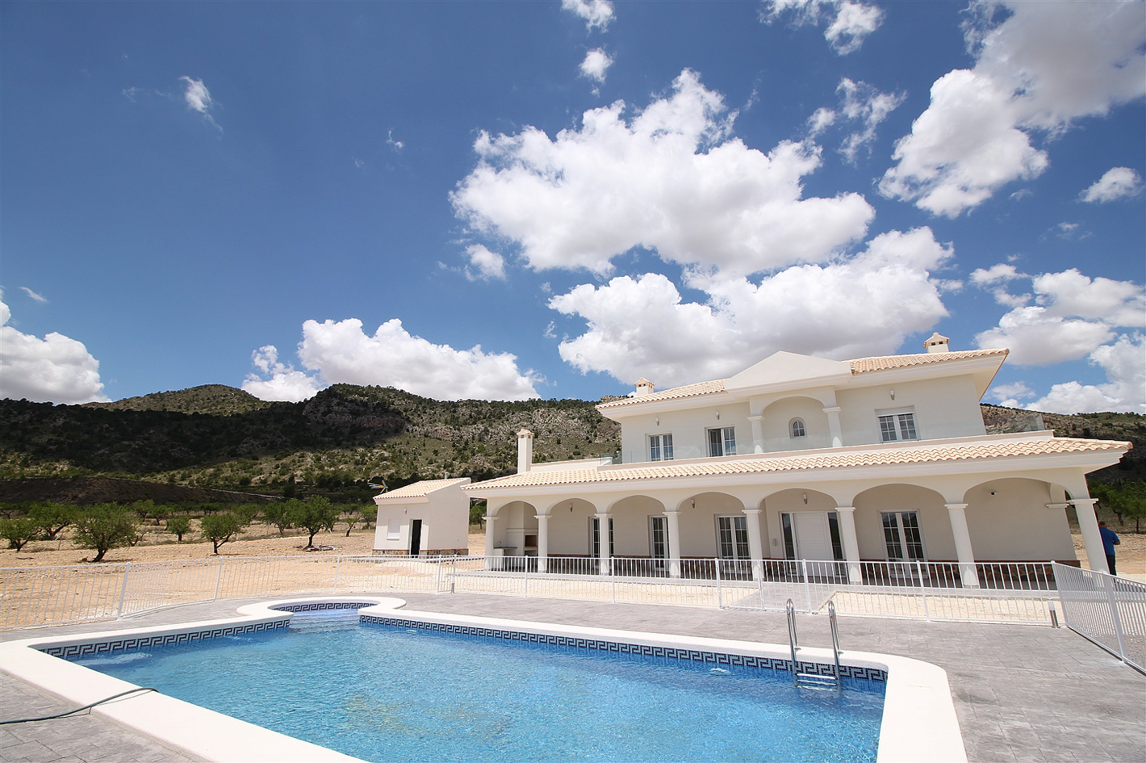 Luxury New Villa with Pool €298,995 inc. land, licences & legalities. ...