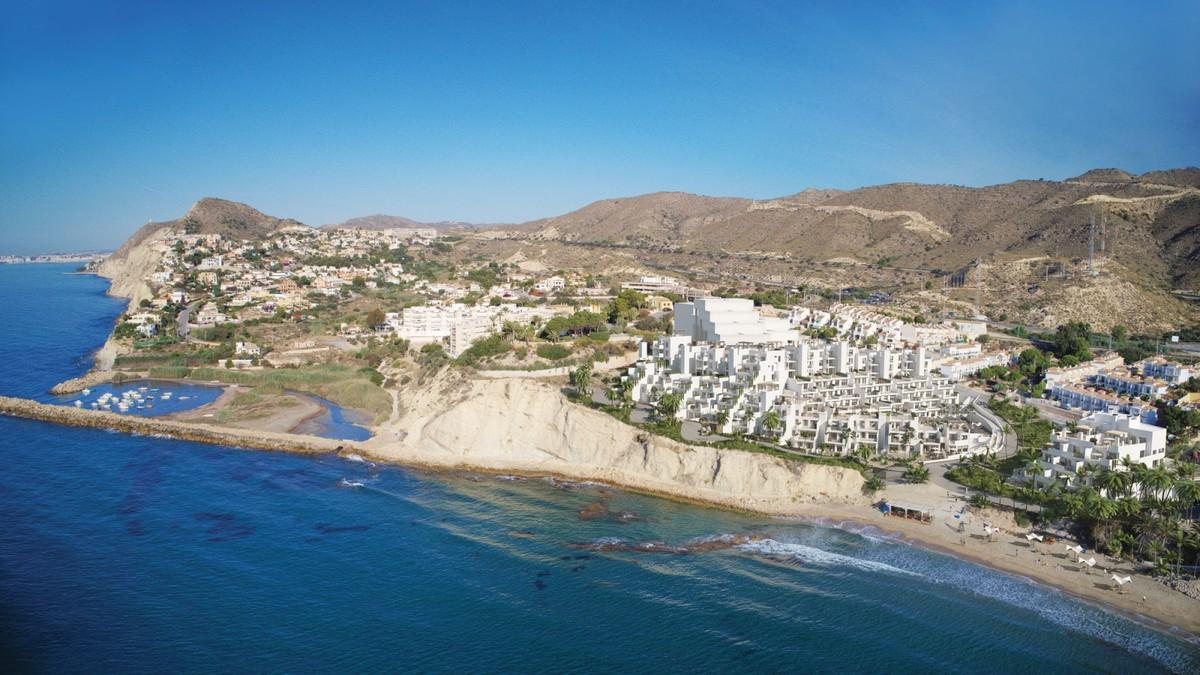 Luxury beachfront penthouse in El Campello.  A one bedroom penthouse with large ...
